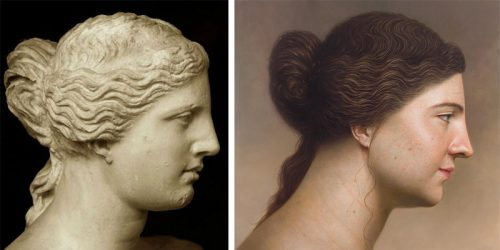 South Korean Artist Recreates Antique Paintings and Busts as Hyperrealistic Portraits
