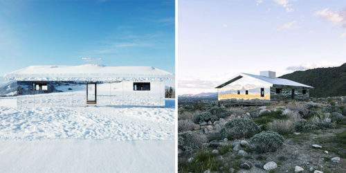 Mirrored Houses that Blend with Surrounding Landscape – Mirage by Doug Aitken