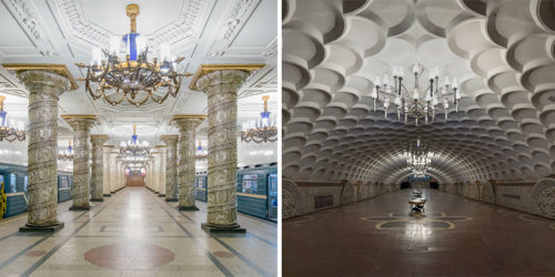 "Glorious ""Soviet Metro Stations"" Photos by Christopher Herwig"