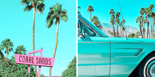 Colorful Minimalist Photography from California with Love