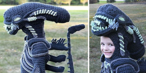 Super-Mom Crochets Halloween Costumes for Her Sons Every Year