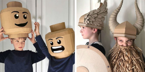 DIY Cardboard Costumes by Alicia Brown
