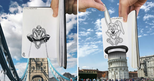 CityLiveSketch – Artistic Project by Pietro Cataudella