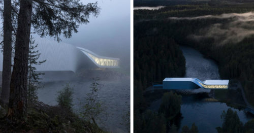 The Twist – Art Museum in Norway that Also Acts Like a Bridge Over the River