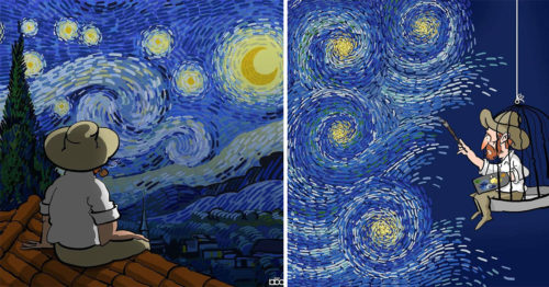 From One Artist to Another – A Tribute to Vincent Van Gogh