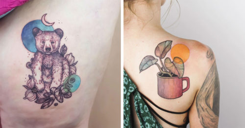 Emily Kaul – Empowering Tattoos Inspired by Flora and Fauna