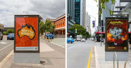 Bushfire Brandalism – 41 Artists Replaced Ads on Streets of Australia to Fight Climate Crisis Because of Government's Inaction