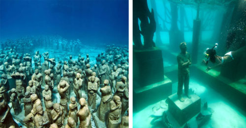 Underwater Parks of Wonder by Jason Decaires Taylor