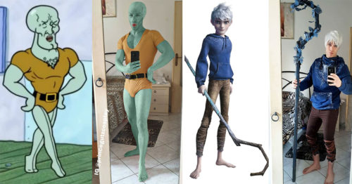 Prince Gutz Shows-Off His Authentic Cosplay Creations