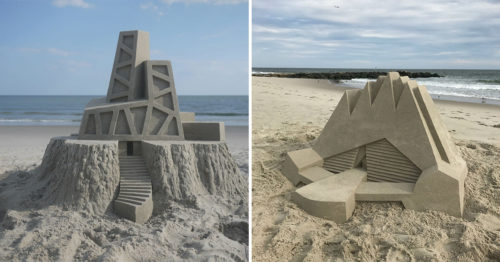 Grand Sand Castles by Ever-Playful Artist – Calvin Seibert