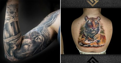 Master Tattoo Artist Fernando Souza – The Greatest Hyper-Realism of Today