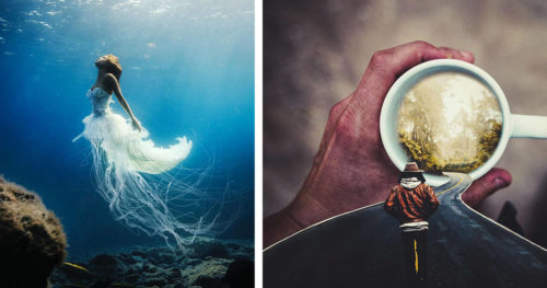 Surreal and Dreamlike Photo Manipulation by Justin Peters