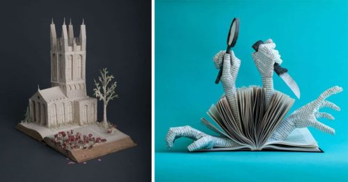 Where Paper Sculpture and Watercolor Collide Bethany Bickley Creates