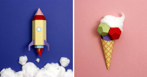 Visual Stories Made Out of Paper at Rome-Based Design Studio