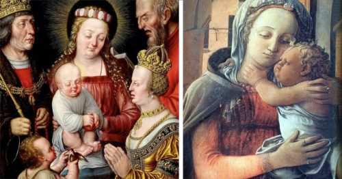 What Went Wrong? Painting Babies During the Renaissance Period