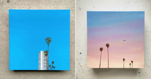 Tranquil Beauty of Western Skies – Cotton Candy-Colored Landscapes