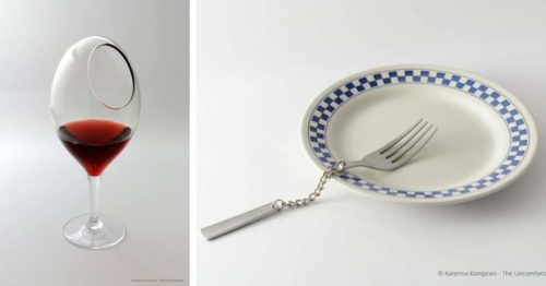 """Katerina Kamprani's Series """"The Uncomfortable"""" Reconsiders the Casual Objects with Little Twist"""