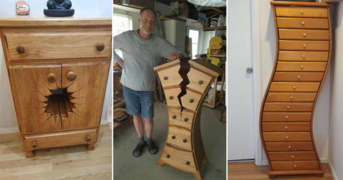 Henk Verhoeff Brings Cartoons to Life Through His Amazing Woodworking Projects