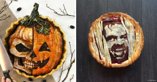 Delicious Halloween Pies by Famous Pie Artist – 'The Pieous'