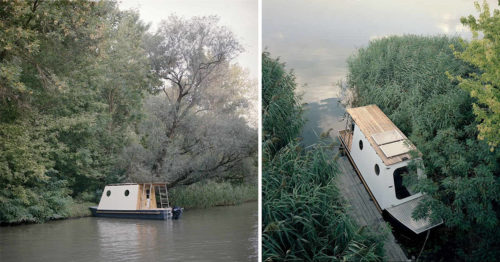 Private Little Houseboat for Nature Lovers in Love