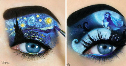 Beautiful Makeup Artistry by Tal Peleg is in the Eye of the Beholder