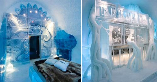 Swedish Icehotel 31 – Entirely Made Out of Ice and Snow – Now Open Year-Round